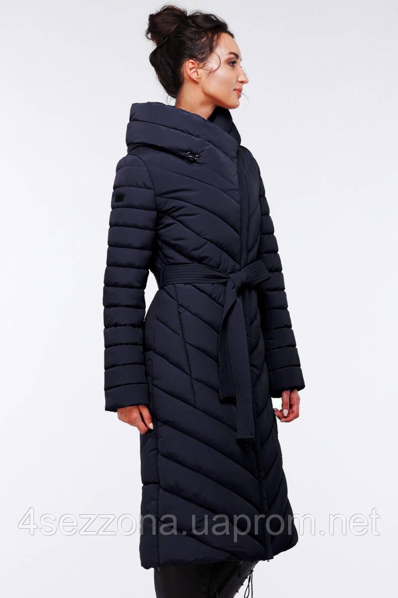 Длинное женское зимнее пальто Фелиция