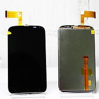 HTC Desire V T328w Дисплей с сенсорным экраном черный