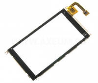Nokia X6 Сенсорный экран с рамкой, черный