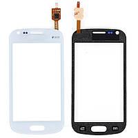 Samsung Galaxy S Duos S7562 Сенсорный экран  белый