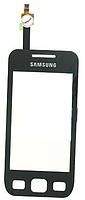 Samsung S5250 Wave 525 Сенсорный экран черный