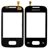 Samsung Galaxy Pocket S5300 Сенсорный экран  черный