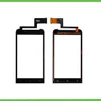 HTC One V T320e Сенсорный экран черный