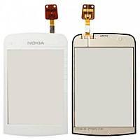 Nokia C2-03 Сенсорный экран  белый ОРИГИНАЛ