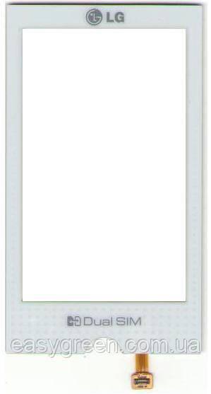 LG GX500 Сенсорный экран белый