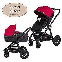 Универсальная коляска-трансформер Gmini Grand 2017 Bordo black