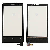 Nokia Lumia 820 Сенсорный экран  черный