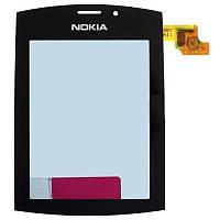 Nokia 303 Сенсорный экран  черный
