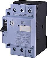 Автоматичний вимикач захисту двигуна ETI MSP0-1,6 (0,37-0,55 kW, 1.0-1.6A)