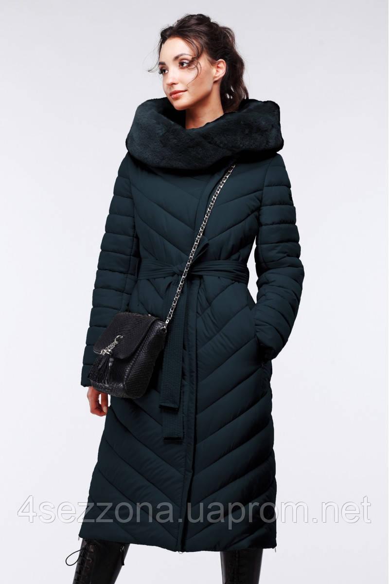 Длинное женское зимнее пальто Фелиция - Интернет-бутик