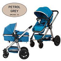Универсальная коляска-трансформер Gmini Grand 2017 Petrol grey