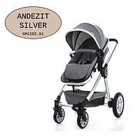 Универсальная коляска-трансформер Gmini Grand 2017 Andezit silver