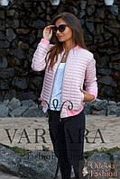 Женская куртка демисезон,из плащевки на синтепоне,рукава на манжетах,три цвета