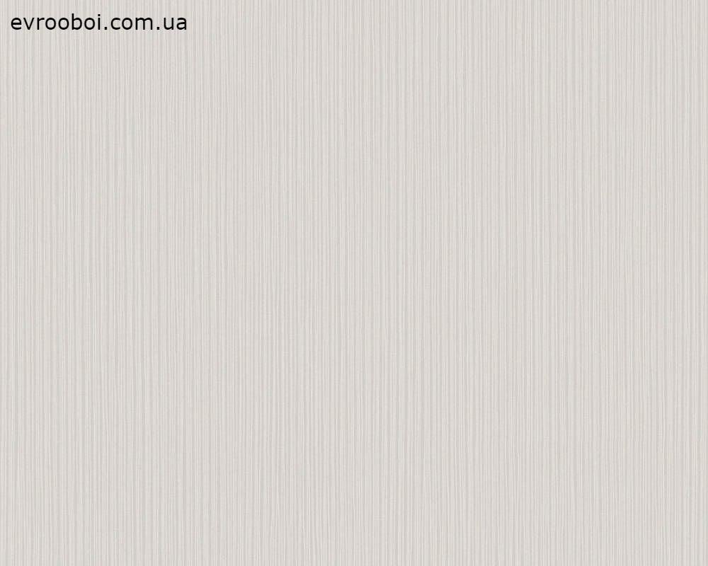 Однотонні німецькі шпалери Happy Spring 344574 фактурні, теплого і світлого, пастельного сіро-бежевого відтінку
