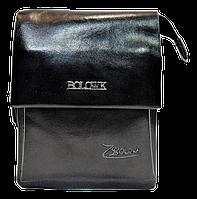 Мужская сумка BOLOWK из искусственной кожи черного цвета CМ-82(С), фото 1