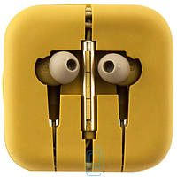 Наушники с микрофоном Xiaomi Piston V3 золотистые