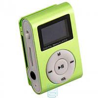 MP3 плеер iPod FM с дисплеем салатовый