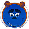 MP3 колонка HX-208 зубастик синий