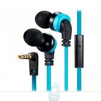 Наушники с микрофоном AWEI ES-13i синие