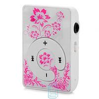 MP3 плеер с розовым узором