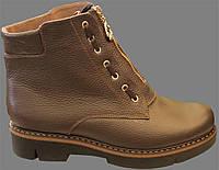 Женские зимние ботинки, женские ботинки кожаные от производителя модель ВБ550
