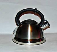 Чайник из нержавеющей стали 3 л Frico FRU-754, фото 1