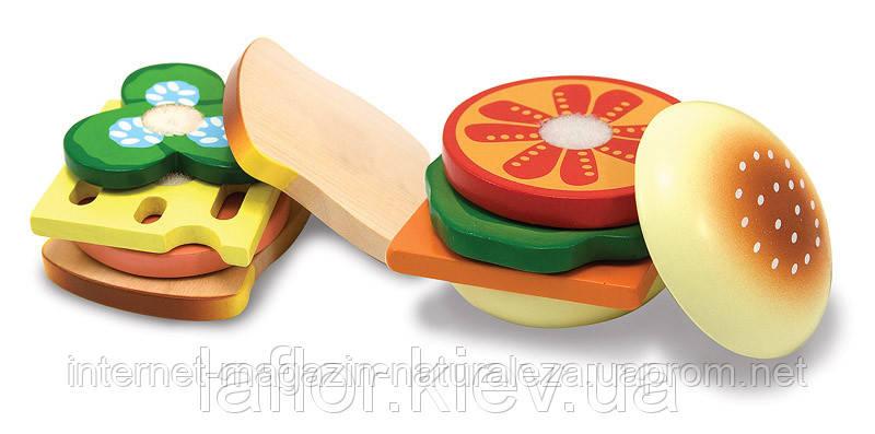 Деревянная игрушка Melissa&Doug Сэндвич