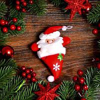 Новогоднее украшение Дед мороз (Снеговик) 0104