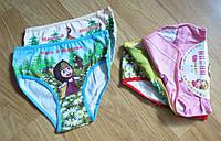 Трусики для девочки Маша и Медведь (8-10, 10-12 лет)