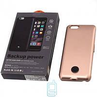 Чехол-аккумулятор X366 для iPhone 6 Bronze