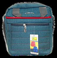 Мужская тканевая сумка XIАNG DI серого цвета GGG-007335, фото 1