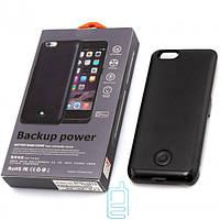 Чехол-аккумулятор X366 для iPhone 6 Black Skin