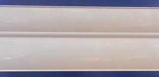 Карниз алюминиевый 2,5 м, белый