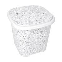 Корзина для хранения Ажур Elif 387-1 белый