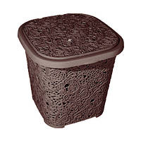 Корзина для хранения Ажур Elif 387-5 коричневый