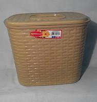 Контейнер для стирального порошка Senyayla 4172 бежевый
