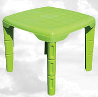 Детский стол пластиковый бирюзовый / ножки съемные