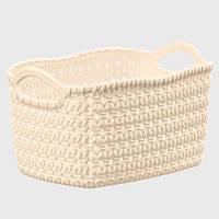 Корзина для хранения Knit Tuffex 17 л TP-4204-2 бежевый