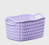 Корзина для хранения Knit Tuffex 17 л TP-4204-6 сиреневый