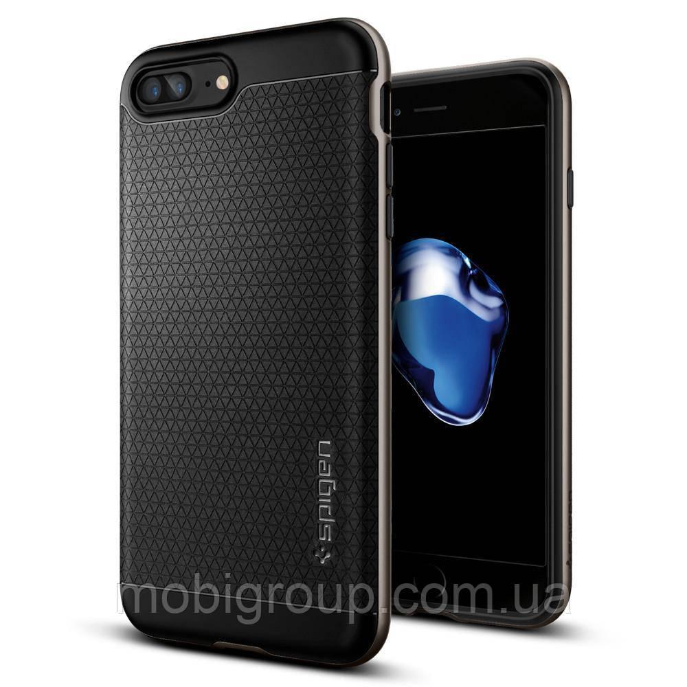 Чехол Spigen для iPhone 7Plus Neo Hybrid, Gunmetal