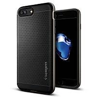 Чехол Spigen для iPhone 7Plus Neo Hybrid, Gunmetal, фото 1