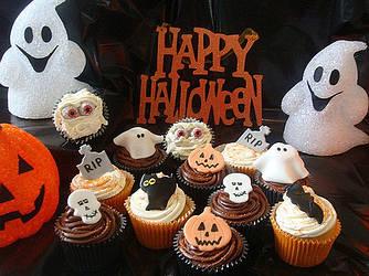 Капкейки на HALLOWEEN (Хеллоуин)
