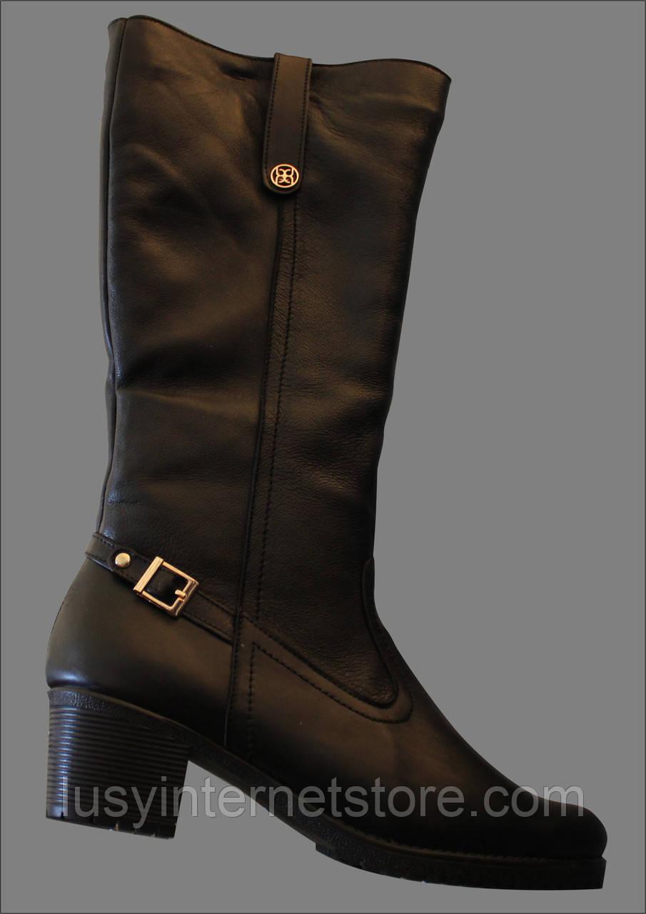Сапоги женские зимние кожаные от производителя модель ВБ4003Н