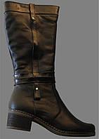 Женские сапоги зимние кожаные, сапоги от производителя модель ВБ7332