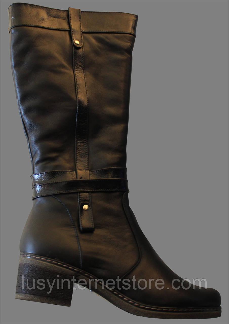 11a55075448d Сапоги женские кожаные от производителя модель ВБ7332Н