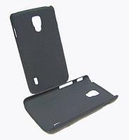 Чехол накладка LG L7 II P710/ P713 Black матовый