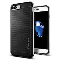 Чехол Spigen для iPhone 7Plus Neo Hybrid, Satin Silver, фото 1