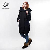 Куртка парка женская длинная Penguin Black