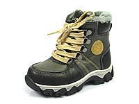 Детские зимние ботинки Clibee H-98 Черный (Размеры: 21-26)