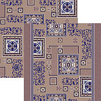 Ковровая дорожка синяя 1м 1,2м 2м 2,5м 3м
